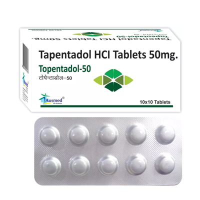 Tapentadol Hydrochloride IP 50mg./TOPENTADOL-50