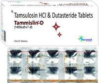 Tamsulosin HCL IP 0.4 mg + Dutasteride  0.5 mg./TAMMISLIN-D