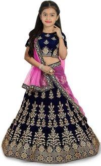 LAHERIYA Girls Designer Lehenga Choli