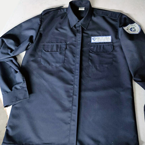 Navy Colour Security Shirt
