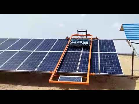 Solar Panel Cleaning Robotic System