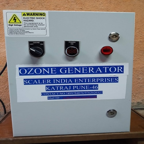 Ozone generator for food
