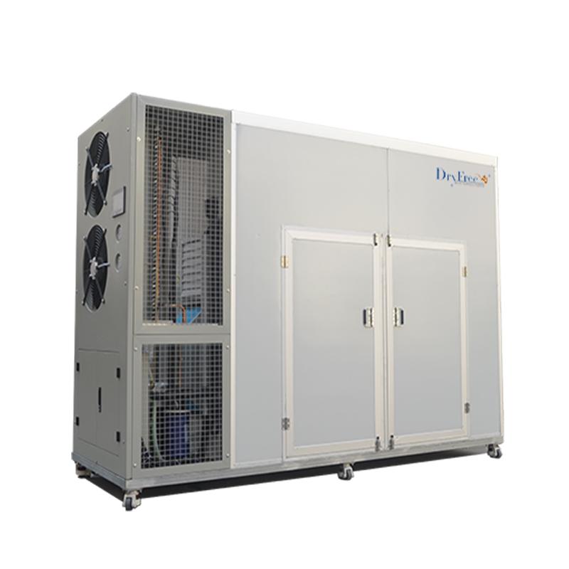 Solar heat pump dryer machine for drying mango