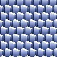 600x600 mm Chexx Blue Digital Porcelain Tiles
