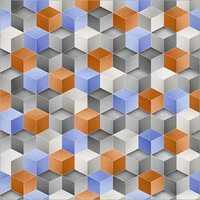 600x600 mm Split Multi Digital Porcelain Tiles