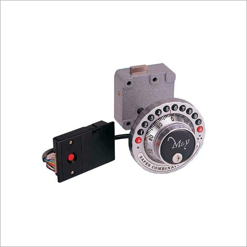 2 In 1 Electronic Mechanical Combination Lock