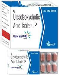 Ursodeoxycholic Acid IP 150 mg./UDICARE-150