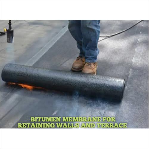 Bitumen Membrane For Retaining Walls And Terrace