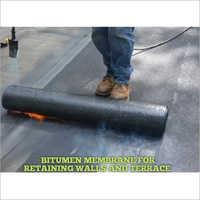 Bitumen Membrane Retaining Walls And Terrace