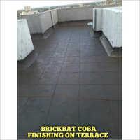 Brickbat Coba Finishing On Terrace
