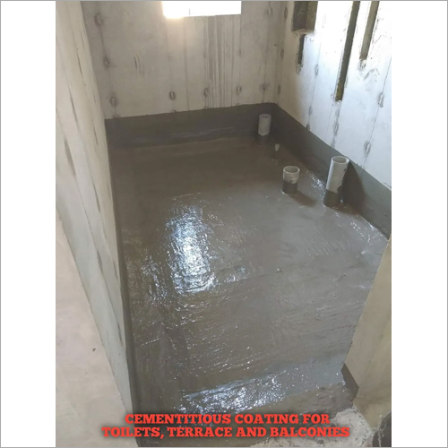 Cementitious Coating For Toilets, Terrace And Balconies