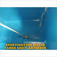 Epoxycoat For Water Tanks And Planter Box