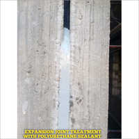 Expansion Joint Treatment With Polyurethane Sealant