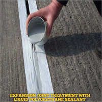 Expansion Joint Treatment  With Liquid Polyurethane Sealant