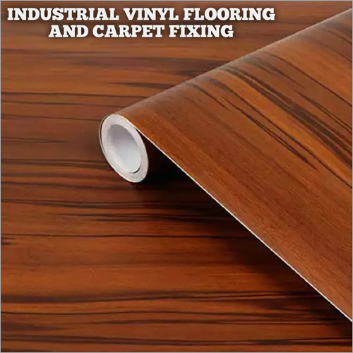Industrial Vinyl Flooring And Carpet Fixing