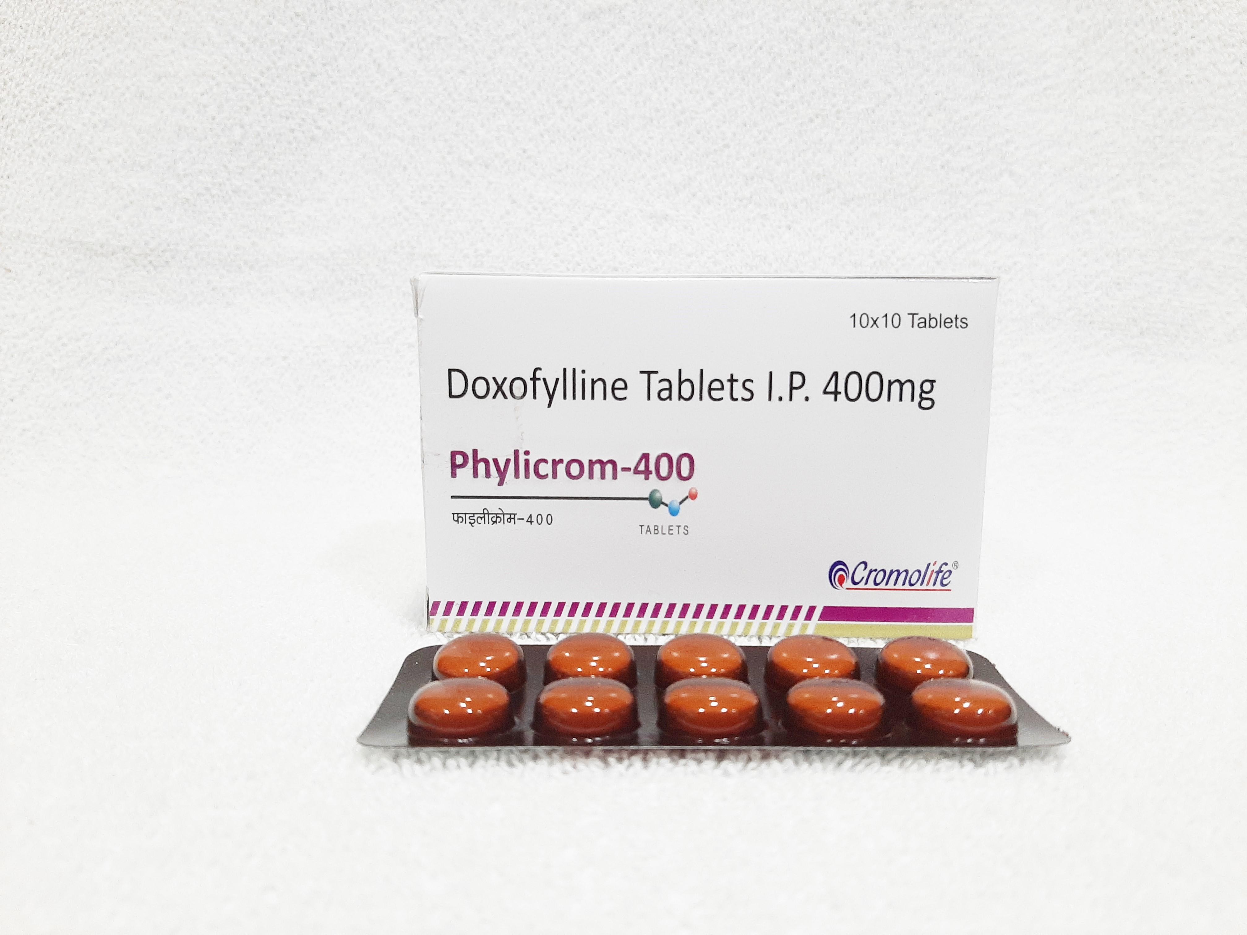 400 MG Doxofylline Tablets I.P.