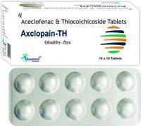 Thiocolchicoside  IP 4 mg. + Aceclofenac 100mg./AXCLOPAIN-TH