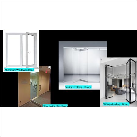 Aluminium Doors, Windows and Sliding Folding Partitions