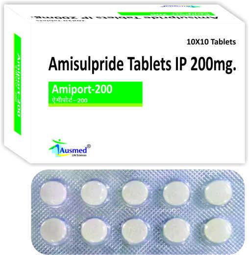 Amisulpride IP 100mg. / AMIPORT- 100.