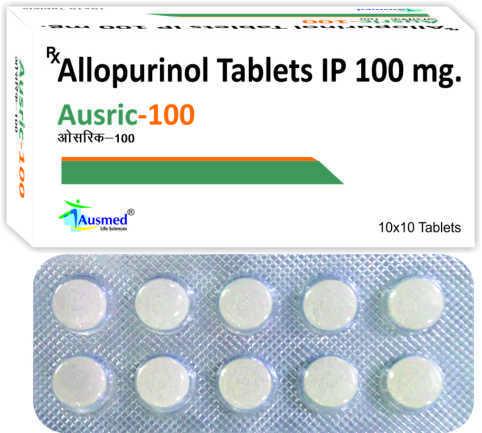 Allopurinol  IP  100mg./AUSRIC-100
