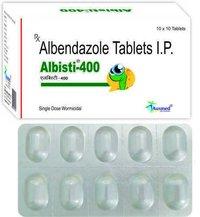 Albendazole IP  400mg./ALBISTI-400