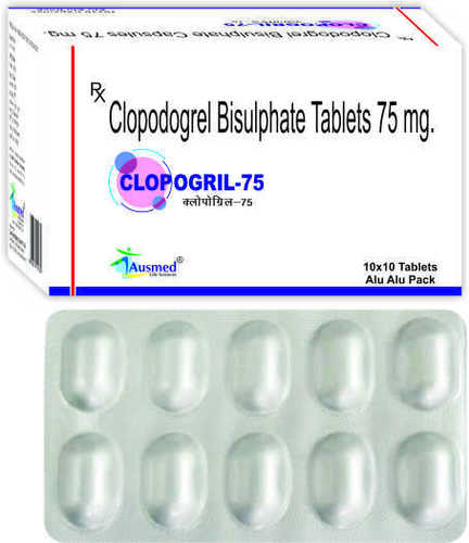 Clopidogrel Bisulphate  75mg/CLOPOGRIL-75