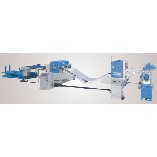 Electric Cut To Length Line Machine