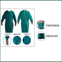 Autoclave Surgical Gown Impervious Material Combo Offer