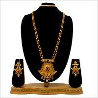 Gold Plated Design Pendant Set