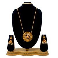 New Simple Design Gold plated Design pendant set