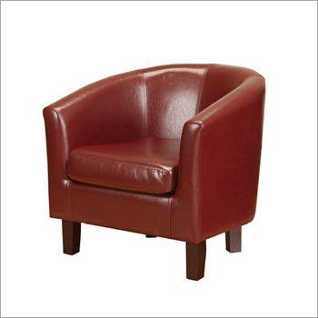 Single Seater Leather Sofa