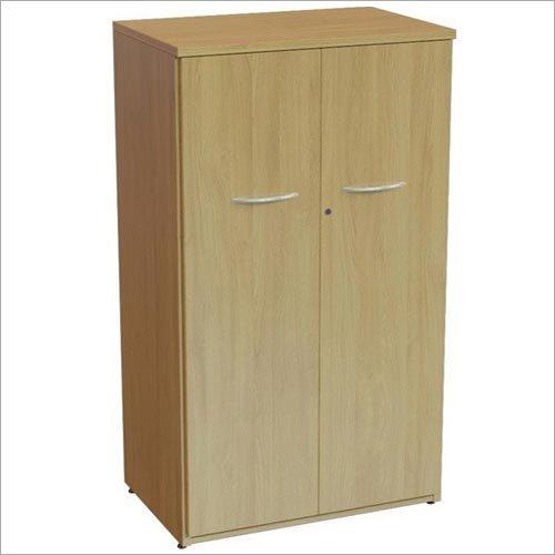 Double Door Wooden Storage Cabinet