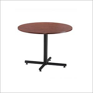 Canteen Round Wooden Table
