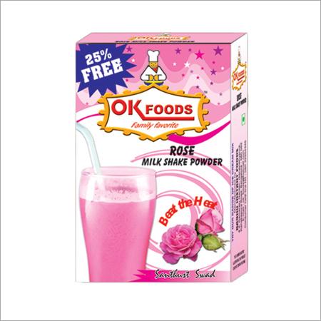 Rose Milk Shake Powder