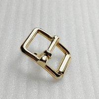 ID15mm Hot Sales Metal Light Gold Zinc Alloy Belt Buckle for Handbag/Luggage Accessories HD199-19