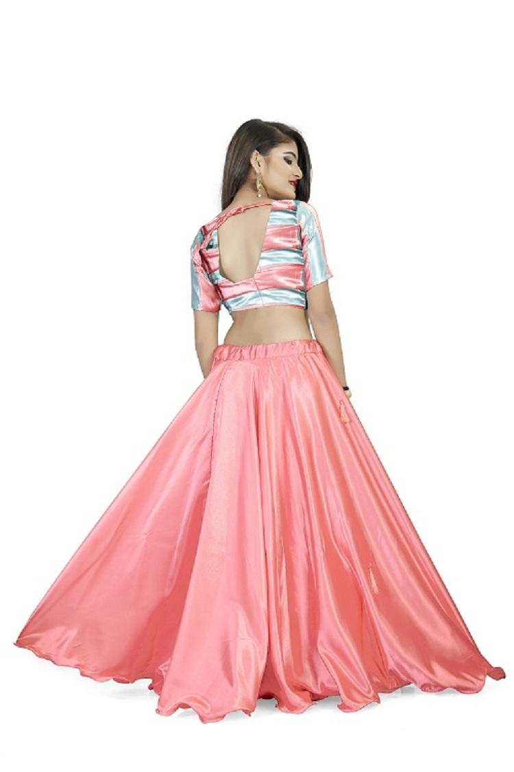 Pink Rose Lehenga Choli