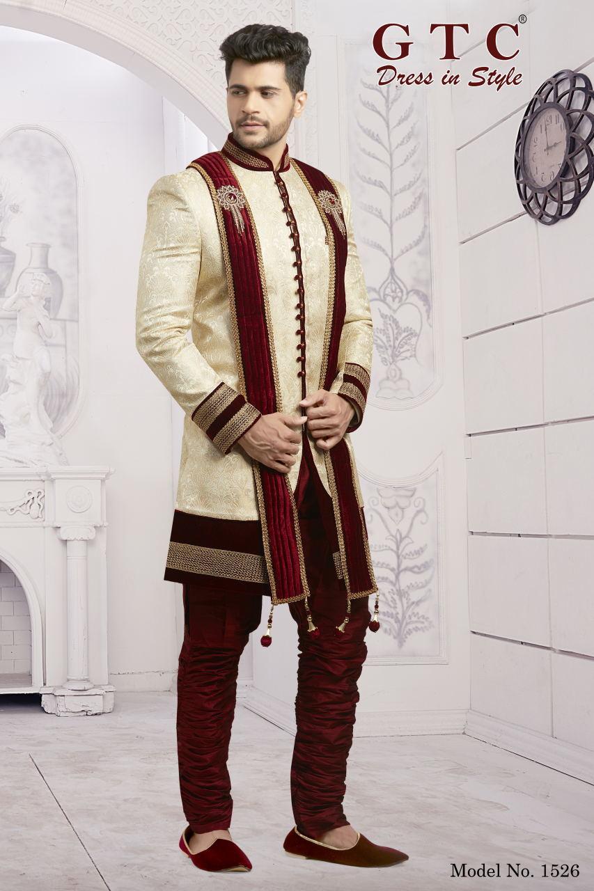 1526 Indo Western Sherani