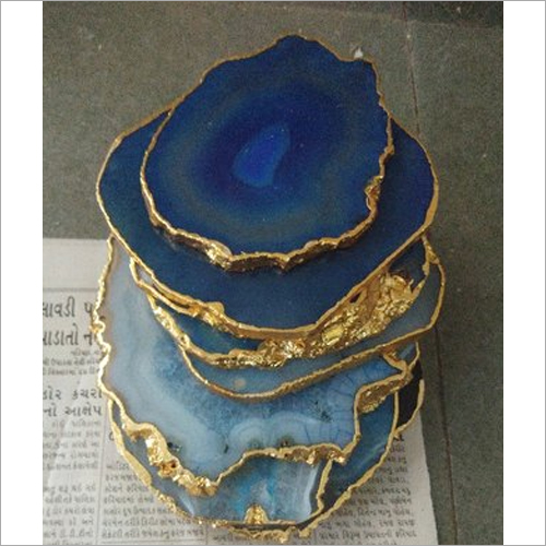 Natural Agate Stone Coaster