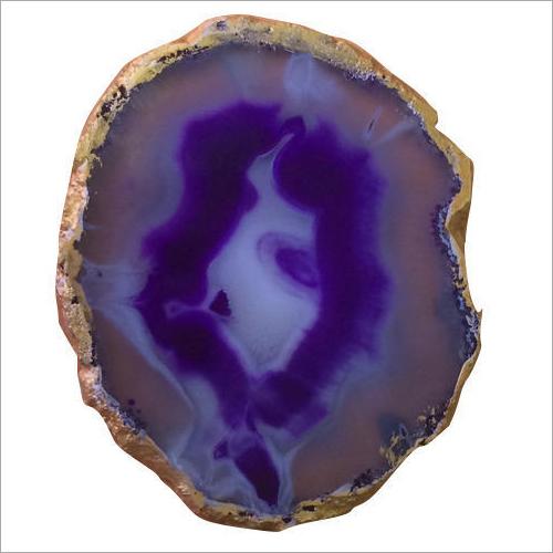 Purple Agate Stone Coaster