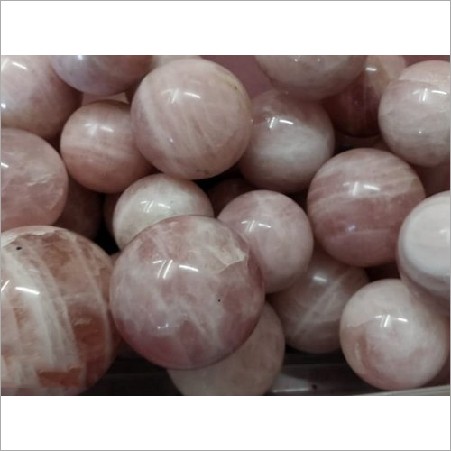 Rose Quartz Agate Ball