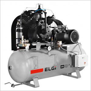 3-20 HP ELGi High Pressure Piston Compressors