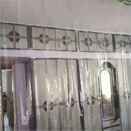Pvc Transparent Plastic Curtain For AC