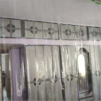 Pvc Transparent Plastic Curtain For AC