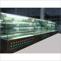 Sweet Display Glass Counter