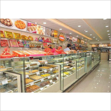 Commercial Sweet Display Counter