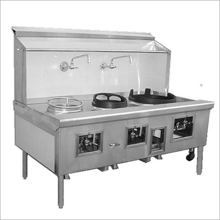 2 Burner Chinese Range