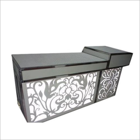 Commercial Decorative Glass Fruit Counter