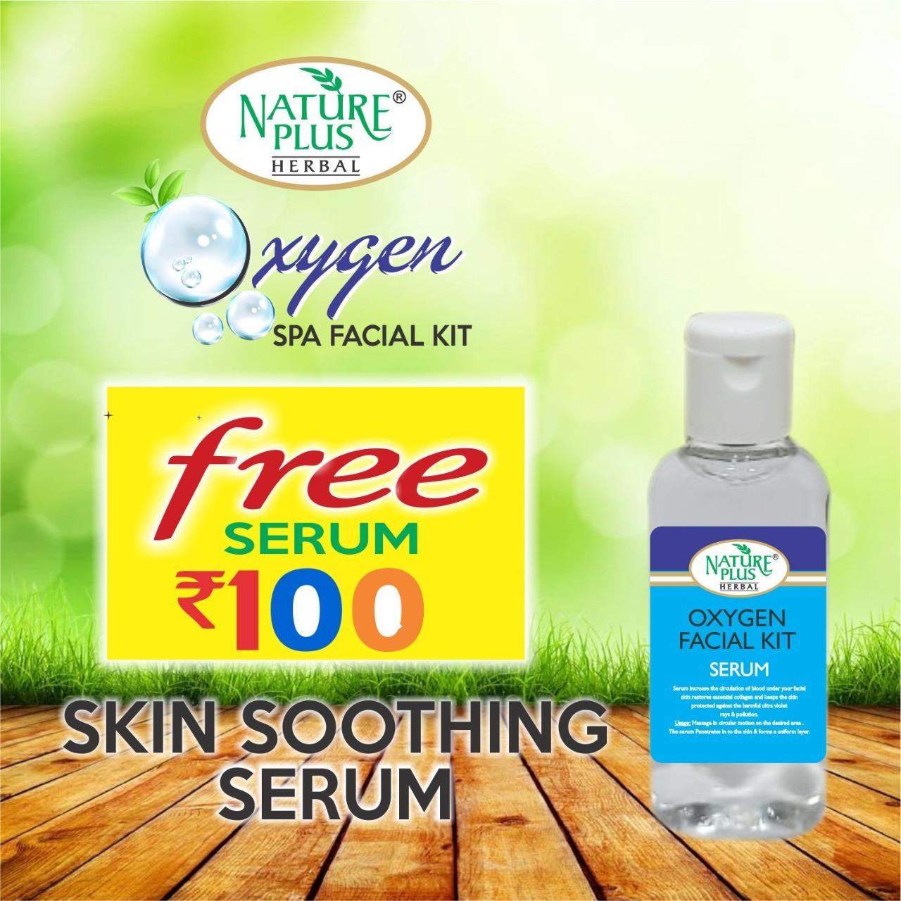 Nature Plus Herbal Oxygen Spa Facial Kit, 370gm