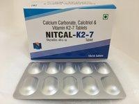 Nitcal K2 7 Tablets