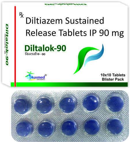 Diltiazem Hydrochloride IP  90 mg./DILTALOK-90